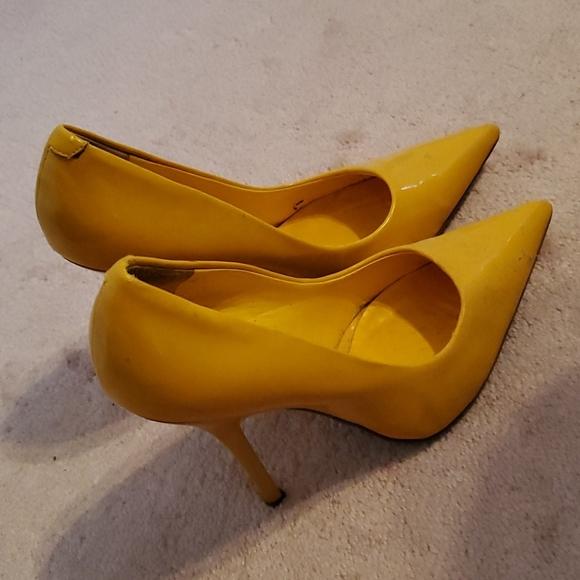 Aldo yellow pumps